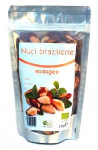 Nuci Braziliene Crude Bio 250 g Obio