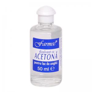 Dizolvant Cu Acetona Pentru Lac De Unghii 50 ml Farmec