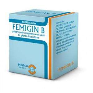 Femigin B 10 plicuri Pharco