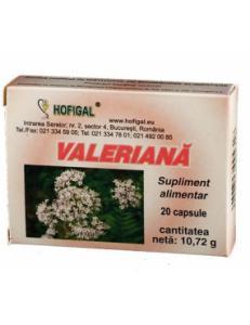 Valeriana 40 cps Hofigal