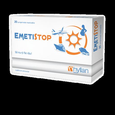 Hyllan Emetistop x 20 cpr mast. - Hyllan Pharma
