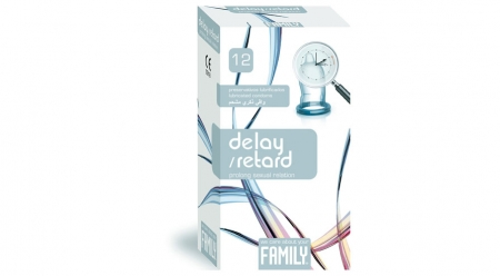 Prezervative  Family Delay / Retard 12 Cex Internacional