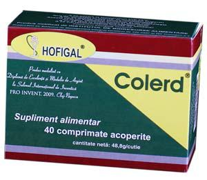 Colerd Plus 40 cpr Hofigal