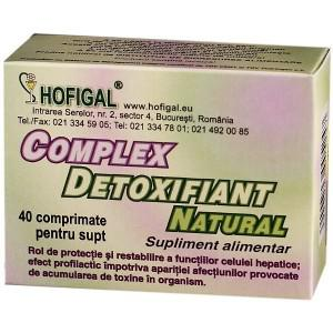 Complex Detoxifiant Natural 40 cpr Hofigal