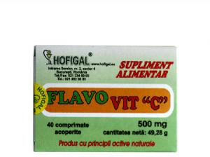 Flavovit C 500 mg 40 cpr Hofigal