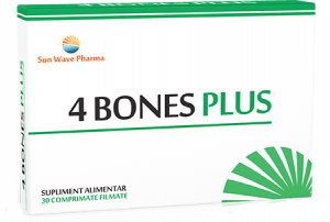 4 Bones Plus 30 cpr filmate Sun Wave
