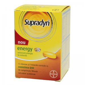 Supradyn Energy Q10 30 cpr Bayer