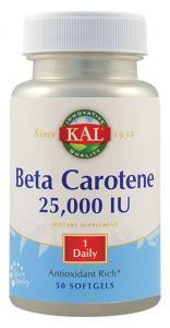 Beta Carotene 25000 Ui 50 cps Secom