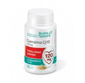 Coenzima Q10 120 Mg 30 cps Rotta Natura