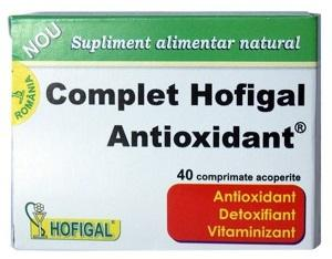 Complet Antioxidant 40 cpr Hofigal