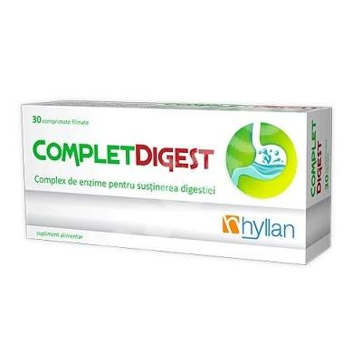 Hyllan Complet Digestiv x 30 cpr - Hyllan Pharma