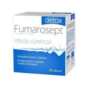 Fumarosept Detox 20 plicuri Zdrovit