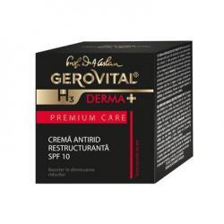 Gerovital H3 Derma+ PC Crema Antirid Restructuranta SPF10 50 ml Farmec