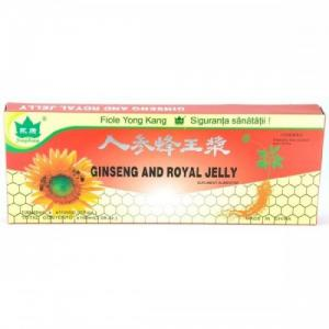Ginkgo Biloba + Ginseng 1000 + 1500 mg 10 fiole a 10 ml YK