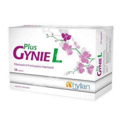 Hyllan Gyniel Plus x 14 cps - Hyllan Pharma
