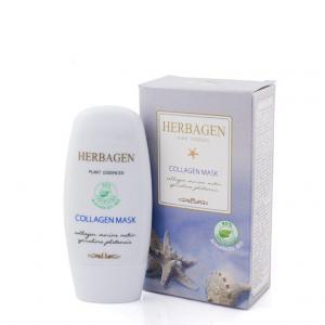 Masca Cu Colagen Marin si Spirulina 50 g Herbagen