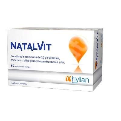 Hyllan Natalvit x 60 cpr - Hyllan Pharma