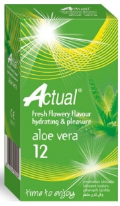 Prezervative Actual Aloe Vera 12 Cex Internacional