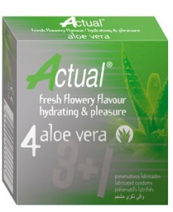 Prezervative Actual Aloe Vera 4 Cex Internacional