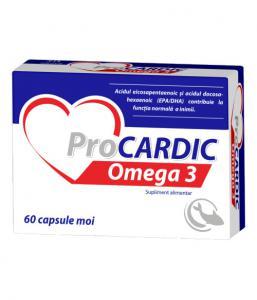 Procardic Omega 3 500 mg 60 cps moi Zdrovit