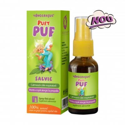 Ingerasul Pufy Puf Salvie Spray 20 ml Dacia Plant