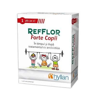 Hyllan Refflor Forte copii x 10 pl - Hyllan Pharma