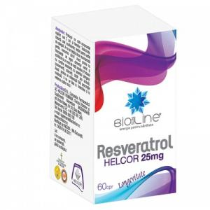 Resveratrol 25 mg 60 cpr Helcor