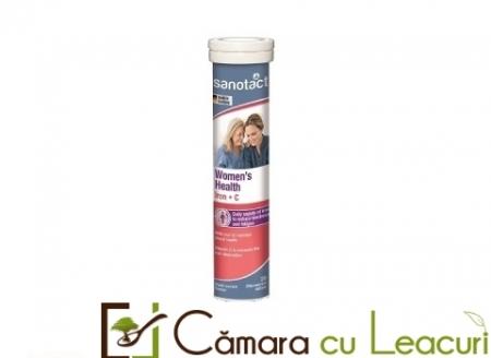 Sanotact  Fe+Vitamina C Sanatatea Femeilor tab. eferv.