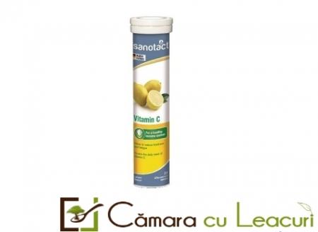 Sanotact Vitamina C 240 mg tab. eferv.