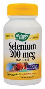 Selenium 200 mcg 60 cps Secom