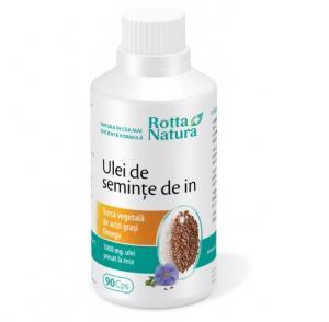 Ulei De Seminte De In 90 cps Rotta Natura