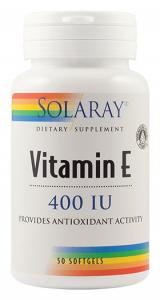 Vitamina E 400 UI 50 cps Secom
