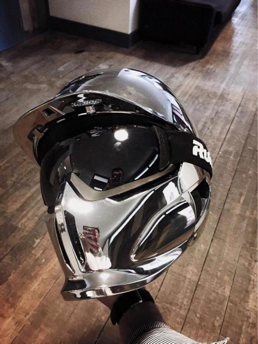 Casca Ruroc RG1-DX Chrome 7