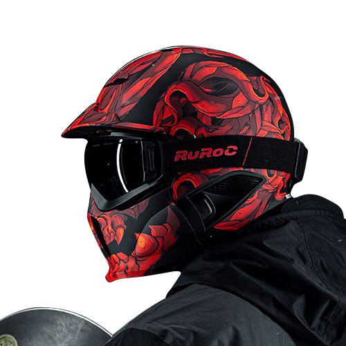 Casca Ruroc RG1-DX Diablo 5