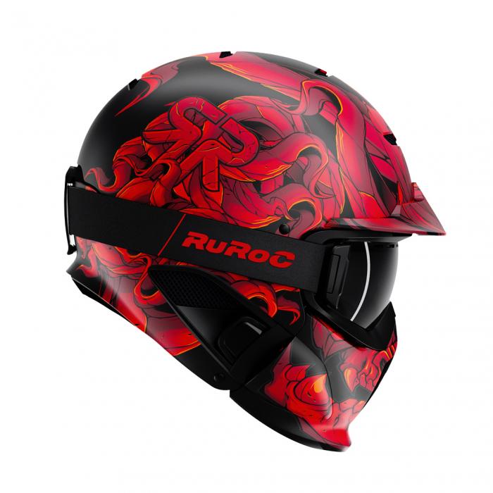 Casca Ruroc RG1-DX Diablo 0
