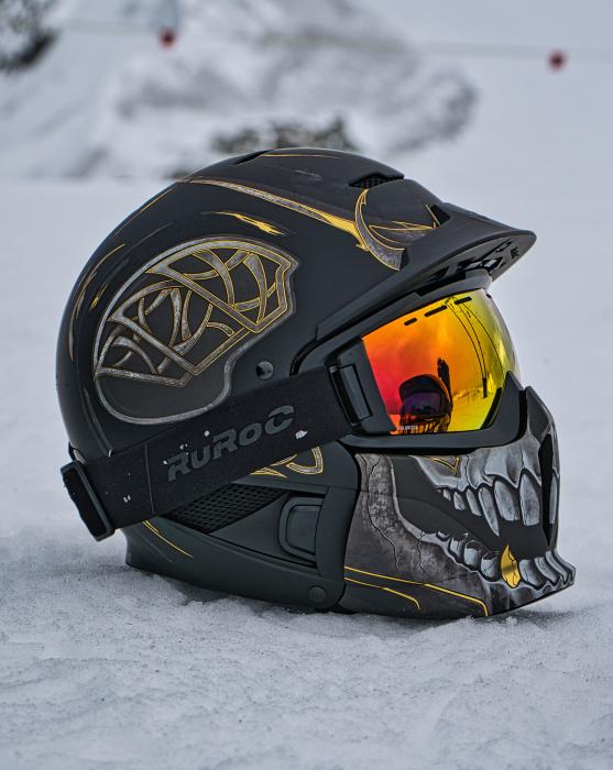 Casca Ruroc RG1-DX Loki 7