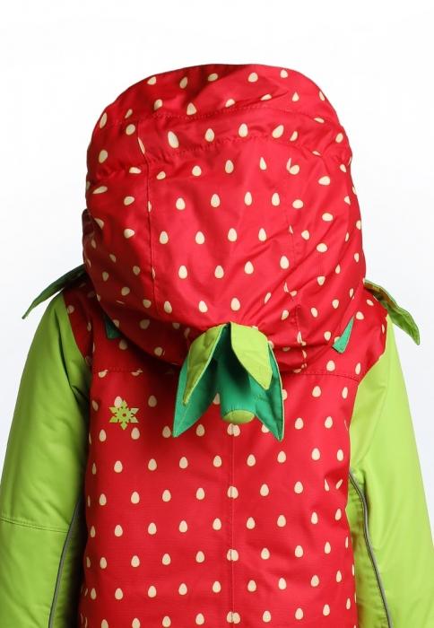 Costum schi Flashy Stars Strawberry 2