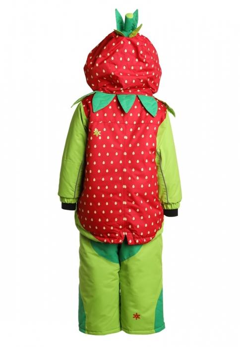 Costum schi Flashy Stars Strawberry 1