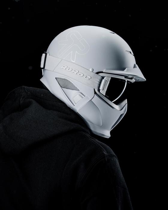 Casca Ruroc RG1-DX Ghost 2