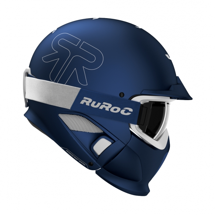 Casca Ruroc RG1-DX Midnight 0