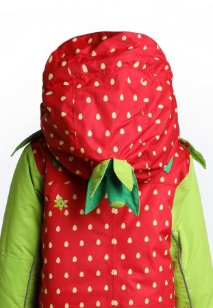 Costum schi Flashy Stars Strawberry2