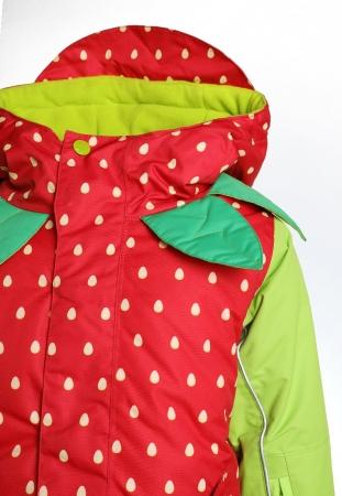 Costum schi Flashy Stars Strawberry4