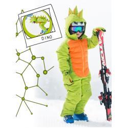 Manusi de ski Flashy Stars Dino4