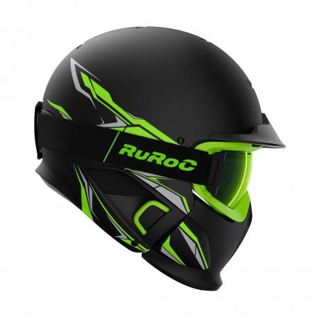 Casca Ruroc RG1-DX CHAOS VIPER0