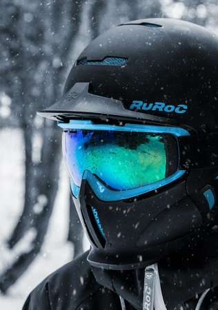 Ruroc RG1-DX Black Ice3