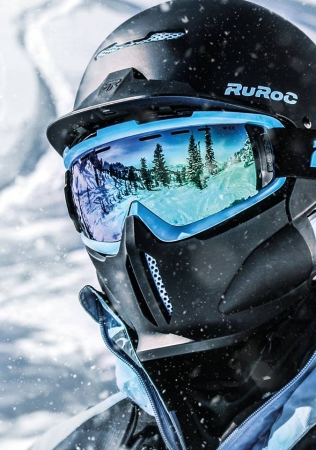 Ruroc RG1-DX Black Ice2