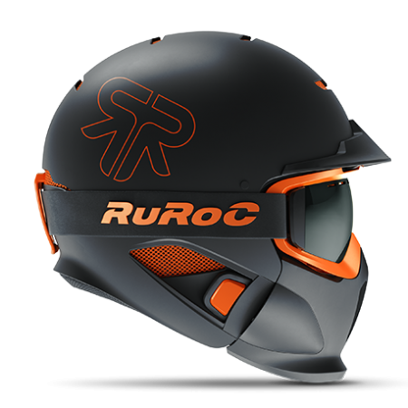 Ruroc RG1-DX BLACK NOVA