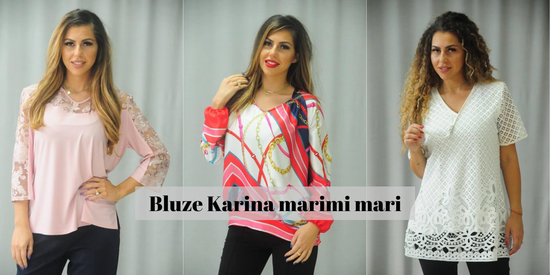 Bluze dama marimi mari Karina Bulgaria