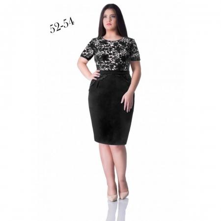 Rochie eleganta de seara din dantela Julia, negru