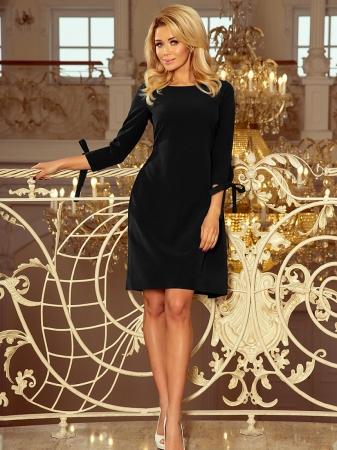 Rochie midi eleganta de ocazie Alice negru1